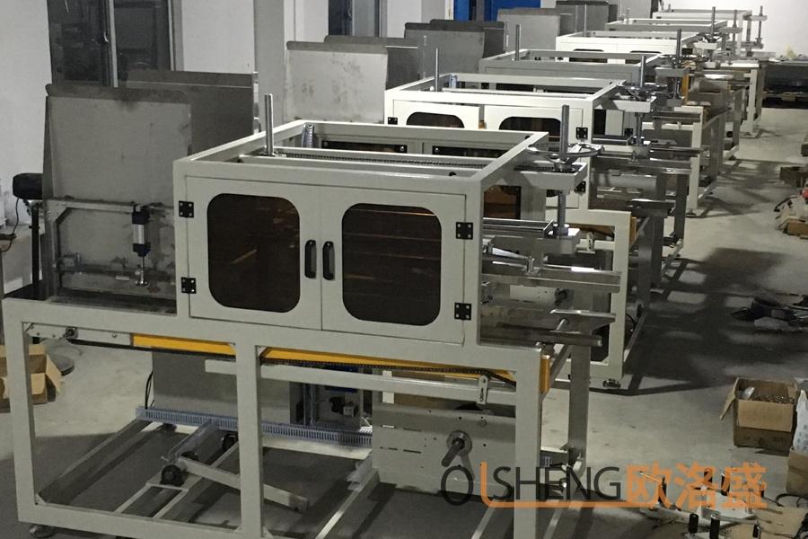 卧式高速开箱机生产车间